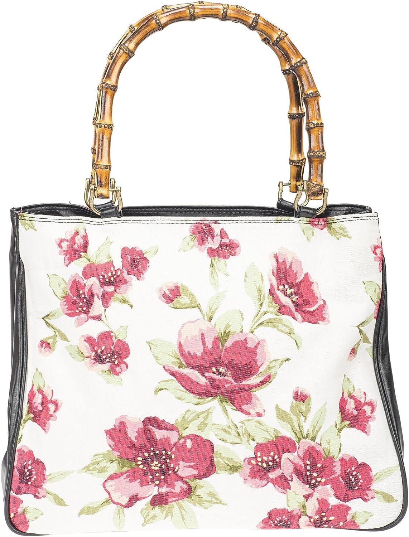 Küstenluder Damen Handtasche Lianna Blaumen Tiki Shopper Creme B07B8PJMTH    Abholung in der Boutique 28511c