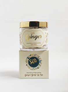 Shae Ginger Body Wrap - Natural Clay Body Wrap/Mask