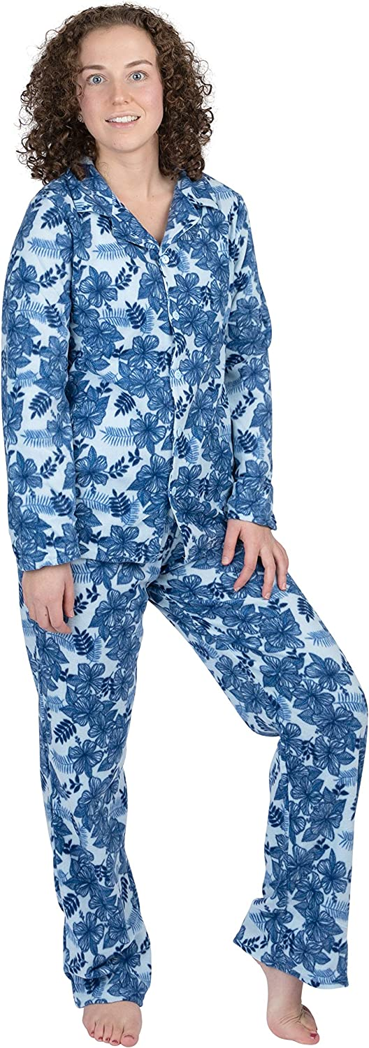 Women's 2-Piece Ultra-Soft Micro Fleece - For Pajama At the price of surprise Set Oakland Mall Sleepin