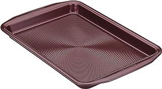 Circulon Nonstick Bakeware, Nonstick Cookie Sheet / Baking Sheet - 10 Inch x 15 Inch, Merlot Red,47880