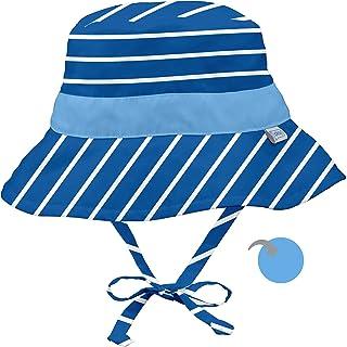 I Play 双面用儿童防晒渔夫帽
