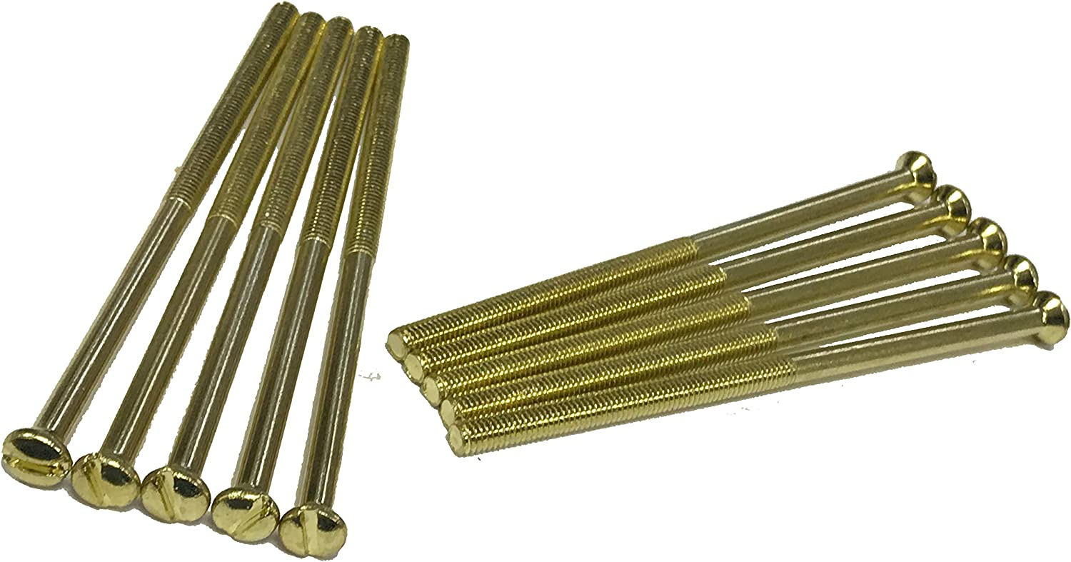 75mm Electrical Screws for Sockets Plugs Switches Finish Black Zinc Brass Chrome