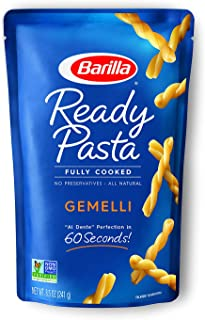 Barilla Ready Pasta, Gemelli Pasta, Pasta, 8.5 Ounce (Pack of 6)