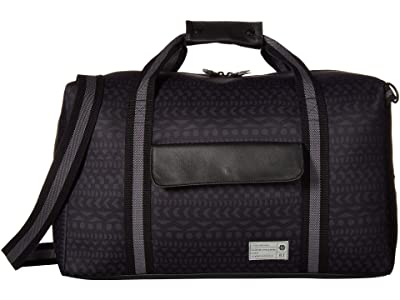 HEX Kindred Drifter Duffel (Black/Grey/Global Stripe) Duffel Bags