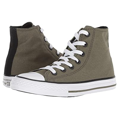 Converse Kids Chuck Taylor(r) All Star(r) Seasonal Hi (Little Kid/Big Kid) (Field Surplus/Black/White) Boy