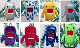 Domo Set of 10 Holiday Christmas Tree Ornaments Featuring Lime Green Domo, Yellow Domo, Tear Drop Domo, Robot Domo, and More 2