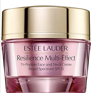 Estee Lauder Resilience Multi-Effect Tri-Peptide Face and Neck Creme SPF 15 For Normal/Combination Skin,1 oz