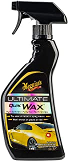 Meguiar's Ultimate Quik Car Wax 450 ml, G17516, H10 X W4.136 X D1.939 inches