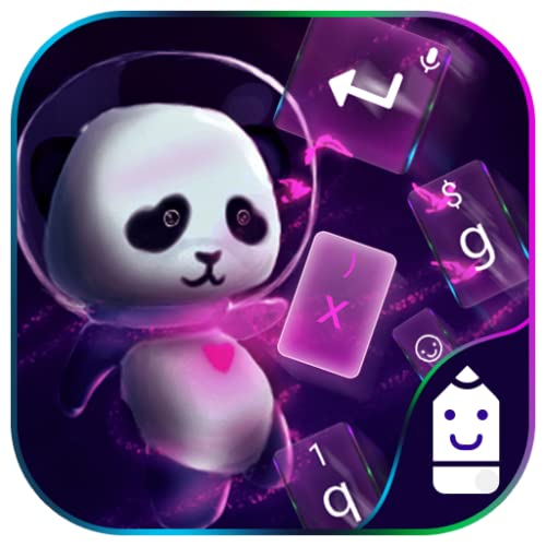 Space Panda Theme&Emoji Keyboard
