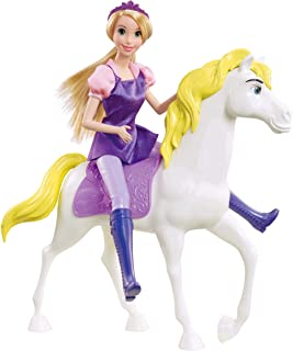 Disney Princess Rapunzel Horse Figure