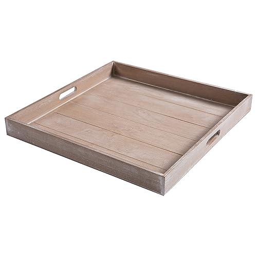 Fine Square Wooden Tray Amazon Com Evergreenethics Interior Chair Design Evergreenethicsorg