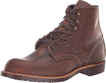 Red Wing Heritage Men's Blacksmith Vibram Boot (Copper Leather)