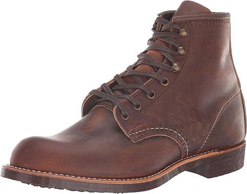 rojo Wing Mens 3343 negrosmith marrón Leather botas 43.5 EU