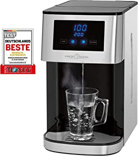 PROFI COOK PC-HWS1145 - Distributeur/Fontaine à eau chaude - 100 °Cen environ 3 secondes - 5 niveaux de température - jus...