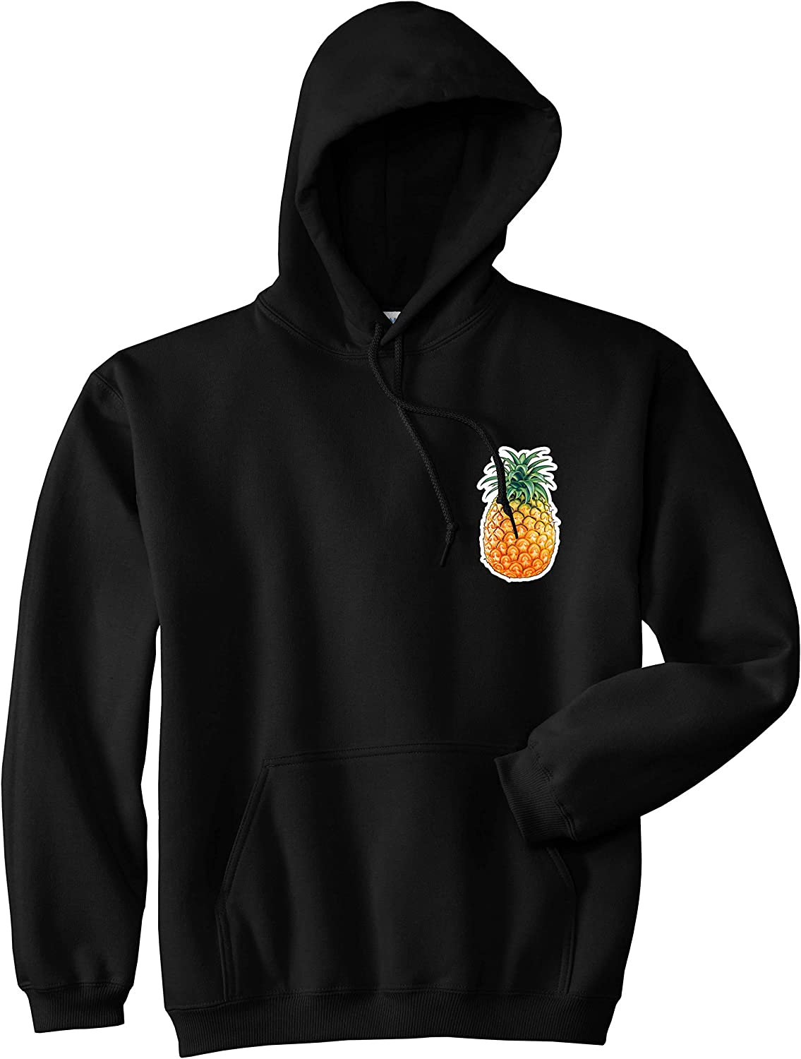 Mesa Mall low-pricing Kings Of NY Pineapple Chest Logo Hoodie Meme Emoji Mens Pullover