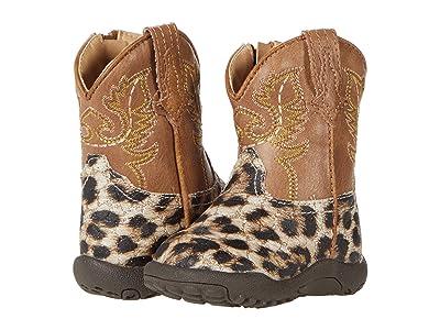Roper Kids Cowbaby Glitter Leopard (Infant/Toddler)