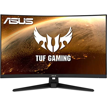 "ASUS TUF Gaming 32"" 1080P Curved Monitor (VG328H1B) - Full HD, 165Hz (Supports 144Hz), 1ms, Extreme Low Motion Blur, Speaker, Adaptive-Sync, FreeSync Premium, VESA Mountable, HDMI, Tilt Adjustable"