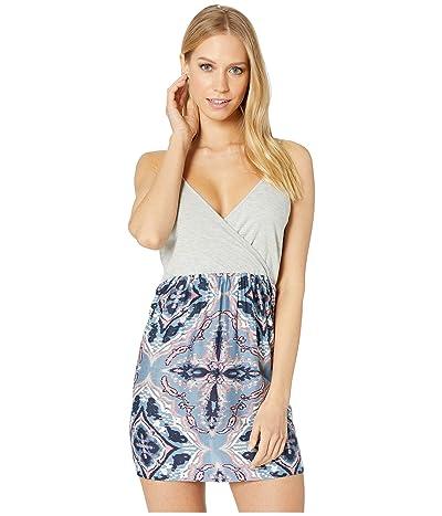 Roxy Floral Offering Dress (Blue Mirage Love) Women