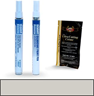 PAINTSCRATCH Sleek Silver Metallic RYS for 2017 Hyundai i10 - Touch Up Paint Pen Kit - Original Factory OEM Automotive Paint - Color Match Guaranteed