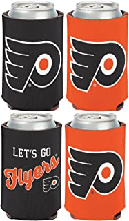 WinCraft NHL Philadelphia Flyers 2 PACK 12 oz. 2-Sided Can Coolers
