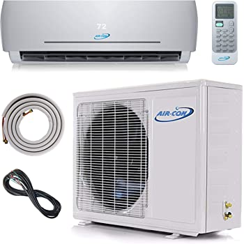 amazon.com: 12000 btu mini split air conditioner – ductless ac/heating  system - 1 ton pre-charged inverter heat pump – 21 seer - 12' lineset &  wiring - 100% ready to install -  amazon.com