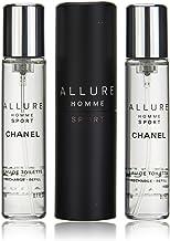 CHANEL ALLURE HOMME SPORT Eau De Toilette vaporizador 3x20 60 ml