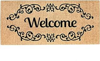 Evergreen Welcome Scroll Sassafras Switch Mat