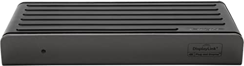 Targus USB-C Universal Dual Video 4K Laptop Docking Station with Charging Power, Audio, & 4 USB Ports for PC, Mac, & ...