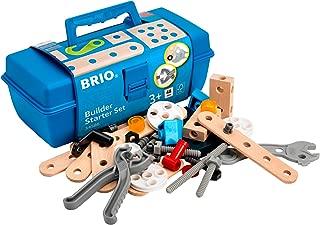BRIO Builder - 34586 Builder Starter Set   49 Piece Building Set for Kids Ages 3 and Up