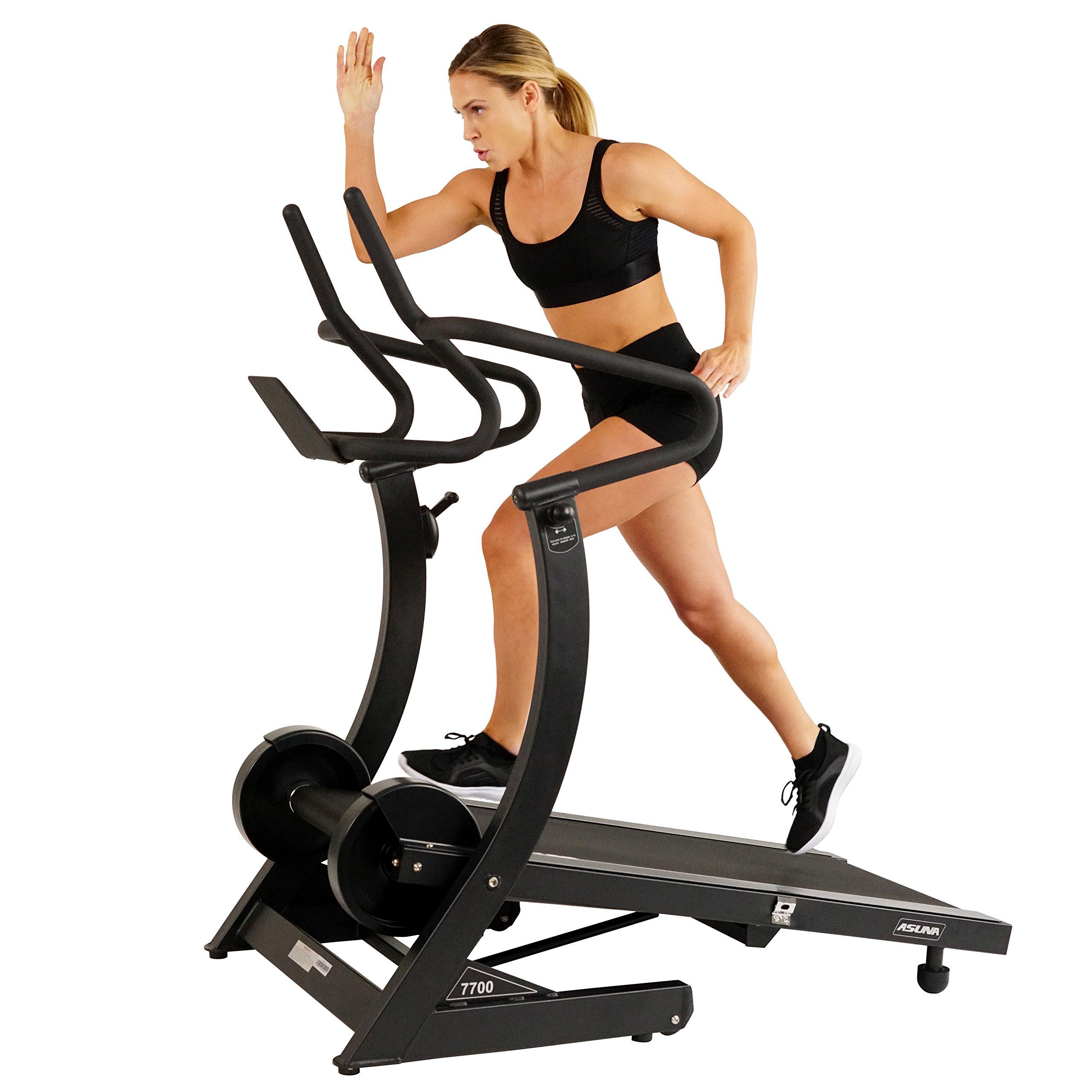 Hi Performance Treadmill Adjustable Resistance Non Motorized