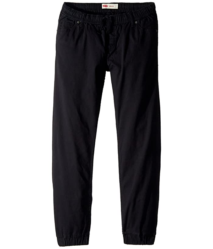 Levis Kids  Twill Joggers (Little Kids) (Black) Boys Clothing