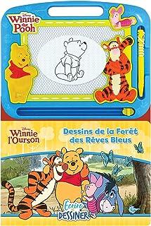 Phidal Disney Winnie l'ourson Écrire et Dessiner, Français, Multicolore