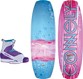 CWB Connelly Bella Kids Wakeboard 124cm, with W's Optima Boot S/M (3-6)