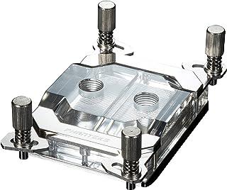 Phanteks CPU Water Block Acrylic Cover RGB LED Chrome Cooling - PH-C399A_CR01