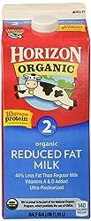Horizon Organic Reduced Fat 2% Milk, Half Gallon, 64 oz