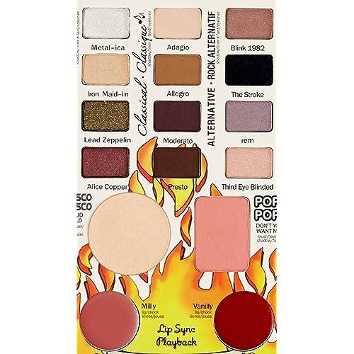 ADS Tony Stark Balm Jovi Rockstar Face Palette Includes 12 Eyeshadow, 1 Blusher, 1 Compact, 2 Lipstick