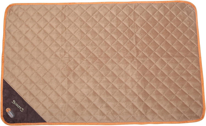 Scruffs 47  x 29.5  Thermal SelfHeating Pet Mat, XLarge, Brown Tan