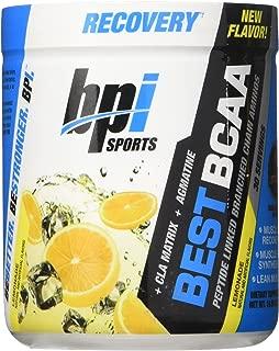 BPI Sports Best BCAA Powder, Lemonade, 10.58 Ounce, New Flavor, Limited Edition