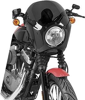 Sportster 883 Hugger XL 883 N XLH 883 XL 883 C Parabrezza Puig Custom II fume chiaro per Harley Davidson Sportster 883 98-10 Sportster 883 Custom 09-12 86-10 XL 883 88-03 Sportster 883 Iron