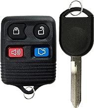 KeylessOption Keyless Entry Remote Control Fob Uncut Blank Car Ignition Key For CWTWB1U345, GQ43VT11T, H92