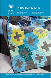 Quilty Love QLP118 Plus and Minus Quilt Pattern