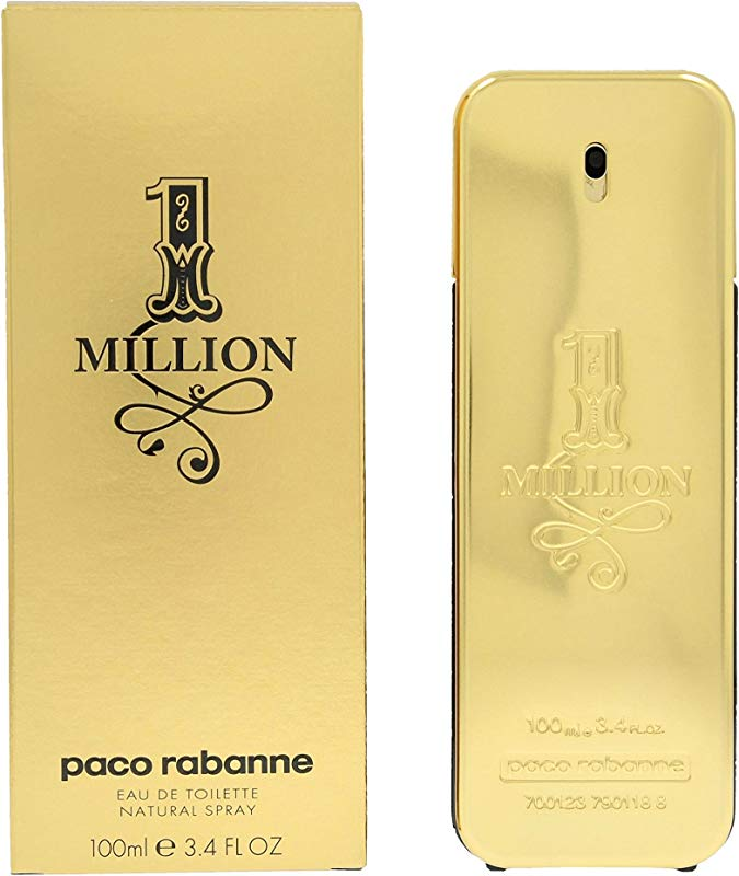 Paco Rabanne 1 Million By Paco Rabanne For Men Edt Spray 3 4 Oz