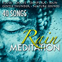Rain Meditation 40 Songs with Sounds of Nature, New Age Relaxing, Asian Meditation, Deep Sleep, Serene Zen, Music for Spas, Flutes, Chant, Rain, Yoga, Natural White Noise, Music for Study
