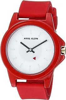 Anne Klein Women's Silicone Strap Watch
