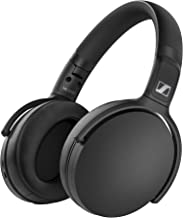 Sennheiser HD 350BT Bluetooth 5.0 Wireless Headphone - 30-Hour Battery Life, USB-C Fast Charging, Virtual Assistant Button, Foldable - Black