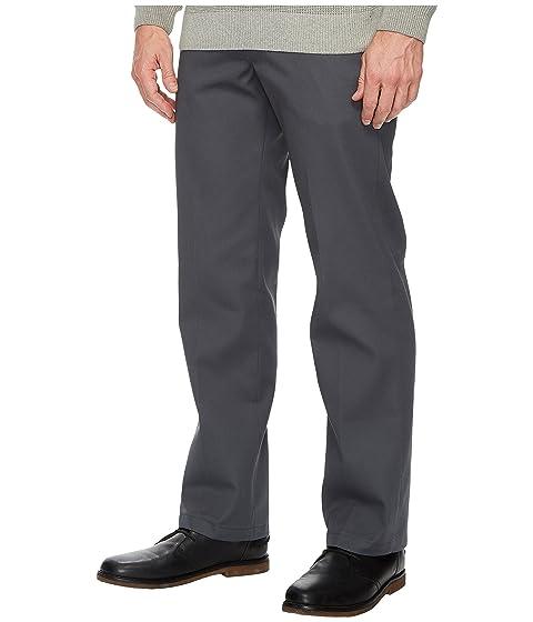 leña de Slim pantalones Dickies rectos de trabajo carbón dR70UWqZnU