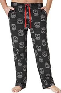 Liverpool F.C.Mens Lounge Pants, Cotton Mens Pjs, Football Gifts for Men Teens