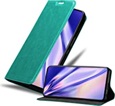 Cadorabo Funda Libro para Samsung Galaxy A51 en Turquesa Petrol - Cubierta Proteccíon con Cierre Magnético, Tarjetero y Función de Suporte - Etui Case Cover Carcasa