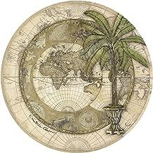 Thirstystone Stoneware Coaster Set, Old World Map I