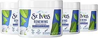 St. Ives Moisturizer Collagen and Elastin Facial Moisturizer Renewing Paraben Free, Dermatologist Tested, Cruelty Free 10 ...